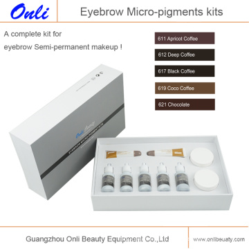 Kits médicaux micro micro pigment pour micropigmentation