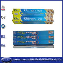 37.5 Sqft Household Aluminum Foil Roll for Food Packaging
