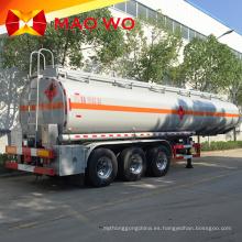 Semirremolque de tanque de combustible de 3 ejes 42000L