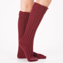 Производитель OEM прямая Поставка низкая цена женщин полиэстер хлопок Пряжа носки