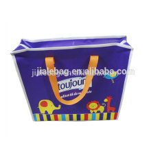 Детали аудита наиболее рекламные ЭКО-дружественных PP сплетенные молния сумка для покупок