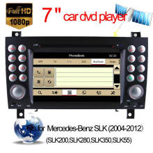Car DVD GPS for Mercedes-Benz Slk-171 Navigation with Bluetooth/Radio/RDS/TV/Can Bus/USB/iPod/HD Touchscreen Function