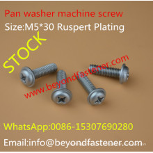 Pan Washer Machine Screw Bolts