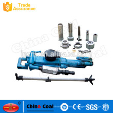 Hot sale YT model Pneumatic Rock Drill with Air Leg