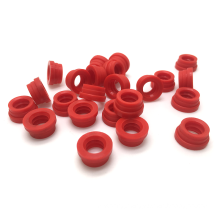 Customizable Hole Bound Round Hollow Rubber Seal Stopper Silicone Plug Grommet, Rubber Stopper rubber cap for tube