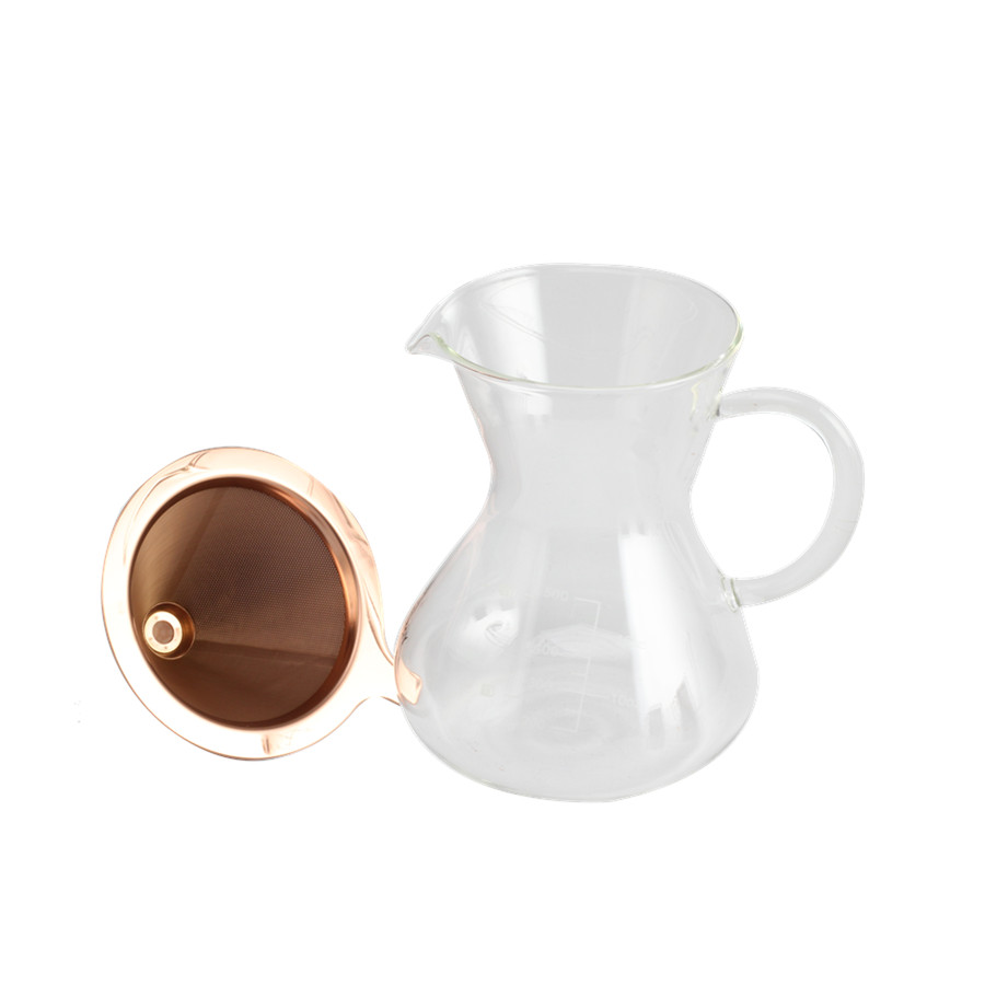 Pour Over Glass Coffee Kettle