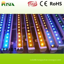 18W Waterproof LED Wall Washer Light with RGB Color