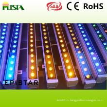 18W Водонепроницаемые светодиодные стены стиральная машина света с цветом RGB