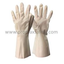 15mil White Nitrile Anti Chemical Glove