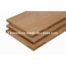 Red Beech Veneered MDF (Medium-density fiberboard) for Furniture