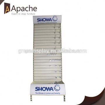 Sample available store portable book rack