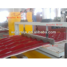 corrugated resin step roof production line