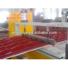 linha de produção ondulada do telhado da etapa da resina