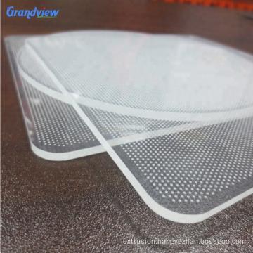 Engraving LED Light Guide Plate Acrylic lgp