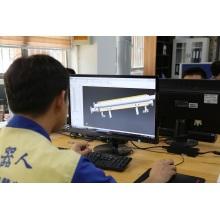Diseño de matriz de extrusión de PP no tejido soplado por fusión
