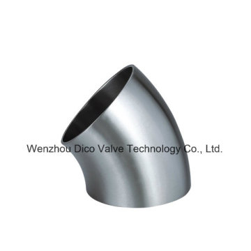 Encaixe de tubulação sanitária do produto comestível de aço inoxidável