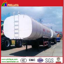 Bitumen Heating Liquid Tanker Body Truck Semi Trailer Tanker