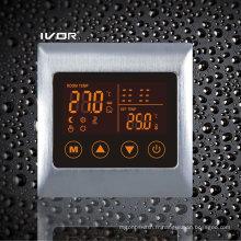 Thermomètre chauffant chauffant au sol Cadre métallique à contact tactile (SK-HV2000L8-L)