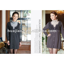 Modern office lady Cashmere sweater dress