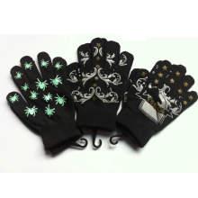 Personalizado a medida de acrílico cálido guantes mágicos impresos / manoplas