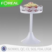 Decoration Metal Cupcake Stand with Flower Edge