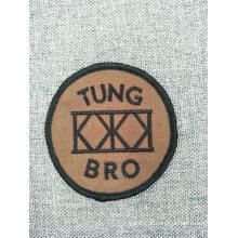 Remendo tecido bordado do bordado da escola do logotipo feito sob encomenda da forma para a roupa