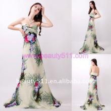 Astergarden Real photo sweetheart bretelles imprimé robe de soirée AS155