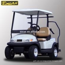 venta caliente 2 plazas buggy de golf eléctrico