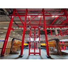 Aluminum products anodizing production line