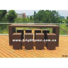 Muebles de ratán - Taburete de bar (BT-N26)