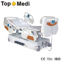 Hot Sale Hospital Enectric Bed with Powder Coating Steel Frame