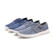 China fabricante a até homens casual 2014 sapatos de lona novo estilo