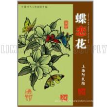 Le Fanshionable attrayant Tattoo beauté fleur et papillon Livre