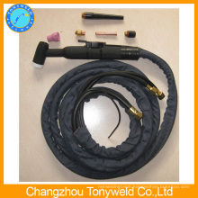 water cooled welding torch wp12 tig weiding torch from china