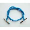 cuerda de trenza con clips