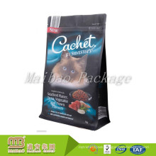 OEM Accept FDA Approved Moistureproof Flexible Packaging Cat Pet Food Stand Up Zipper Pouch With Zip Lock