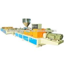 /trapezoid en plastique recyclé vague ronde wave toit feuille machines/pp pe machine en plastique d'extrusion