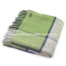 Tiro de viajes de manta, lana pura lana viajes