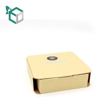 Kundenspezifische Privatdruck M / F Gebleichte Craft Paper Box
