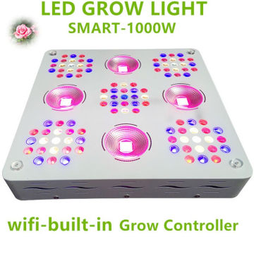 Patente 1000W LED Grow Light Full Spectrum para plantas vegetales y flores