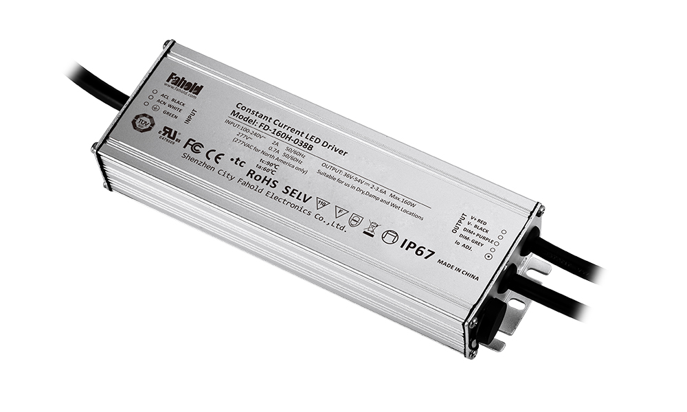 industrial luminaire 100w led driver