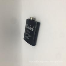 6oz custom high quality  liquor drinking bottle BPA free hip flask stainless steel