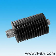 d45*104mm Roundness 30W Power Rating RF coaxial Attenuator