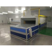 Industrial UV tunnel oven machine