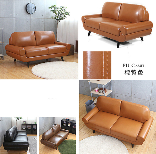 Leather Loveseat Sofa