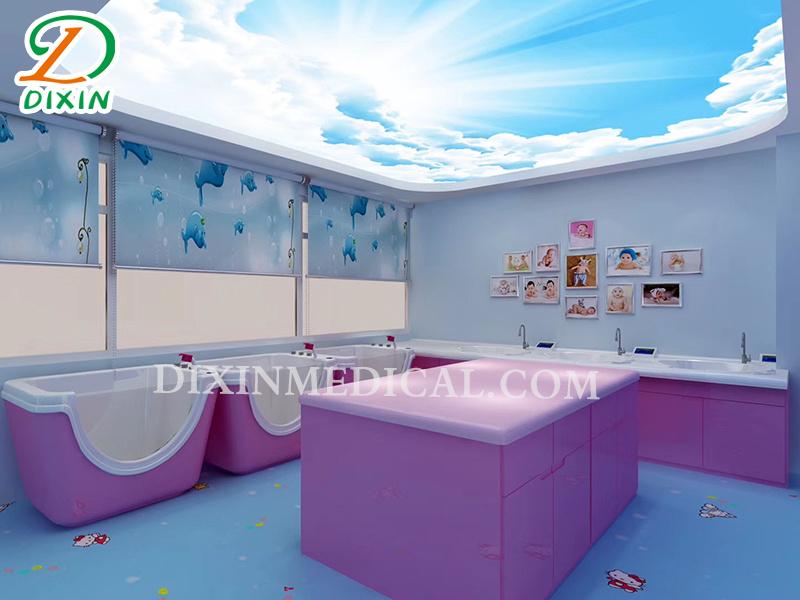 Baby bathing equipment