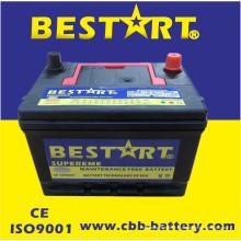 Preços da bateria de carro da bateria do carro por atacado 58500mf 12V 50ah auto bateria