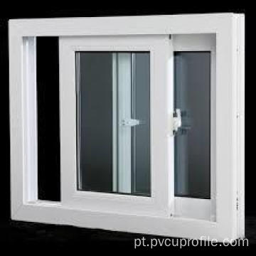 Perfis de Upvc que deslizam Windows