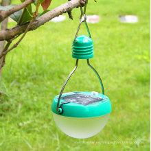 Portable 7LED Solar Camping Luz solar de emergencia de suspensión de la lámpara