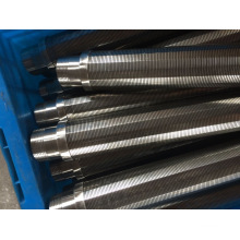 500micron Metal Wedge Wire Element for Booster Pump Station